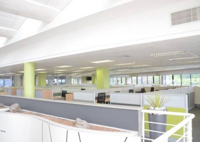 consulting open plan area